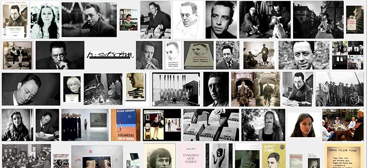 Bildgoogling på mitt namn plus Albert Camus. Jag är mycket nöjd med denna samling bilder.