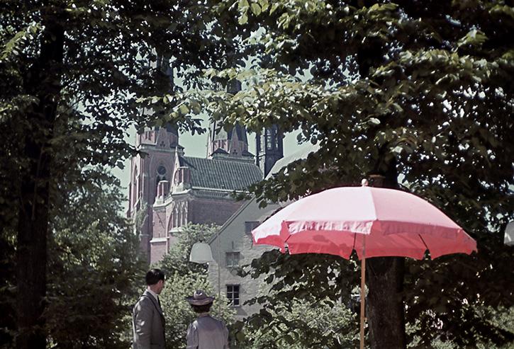 Uppsala i maj 1943 72 år sedan Året då min pappa föddes för övrigt